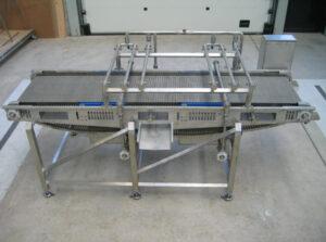 Shrimp glazing equipment